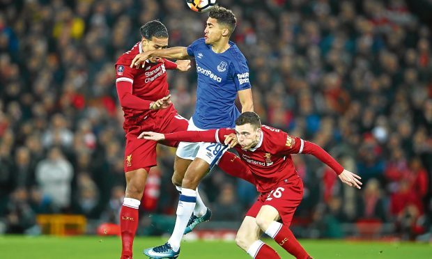 Andy Robertson teams up with Virgil van Dijk (Getty Images)