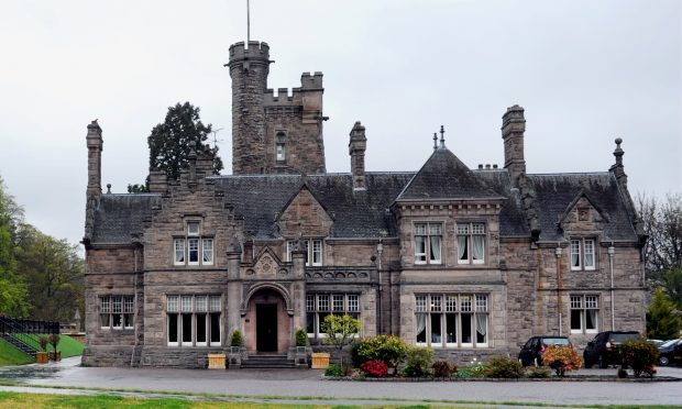 The Mansion House Hotel, Elgin. (Gordon Lennox)