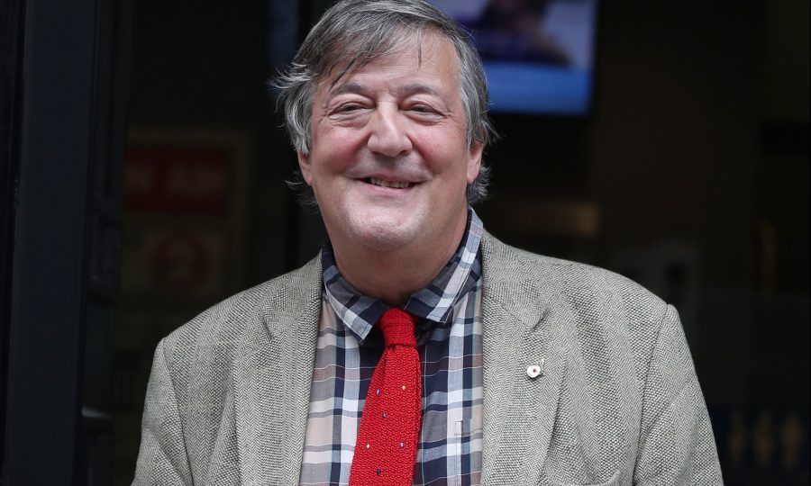 Stephen Fry revealed he has been battling prostate cancer