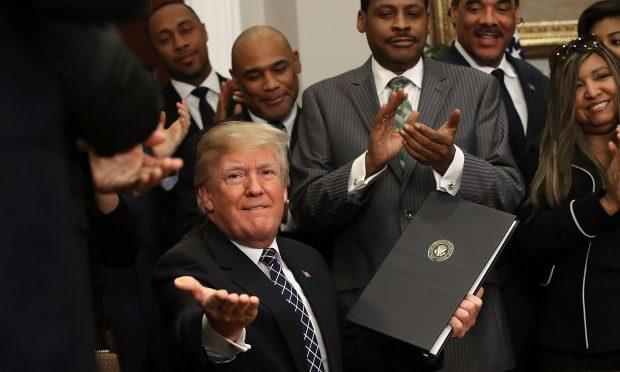 President Donald Trump (Mark Wilson/Getty Images
