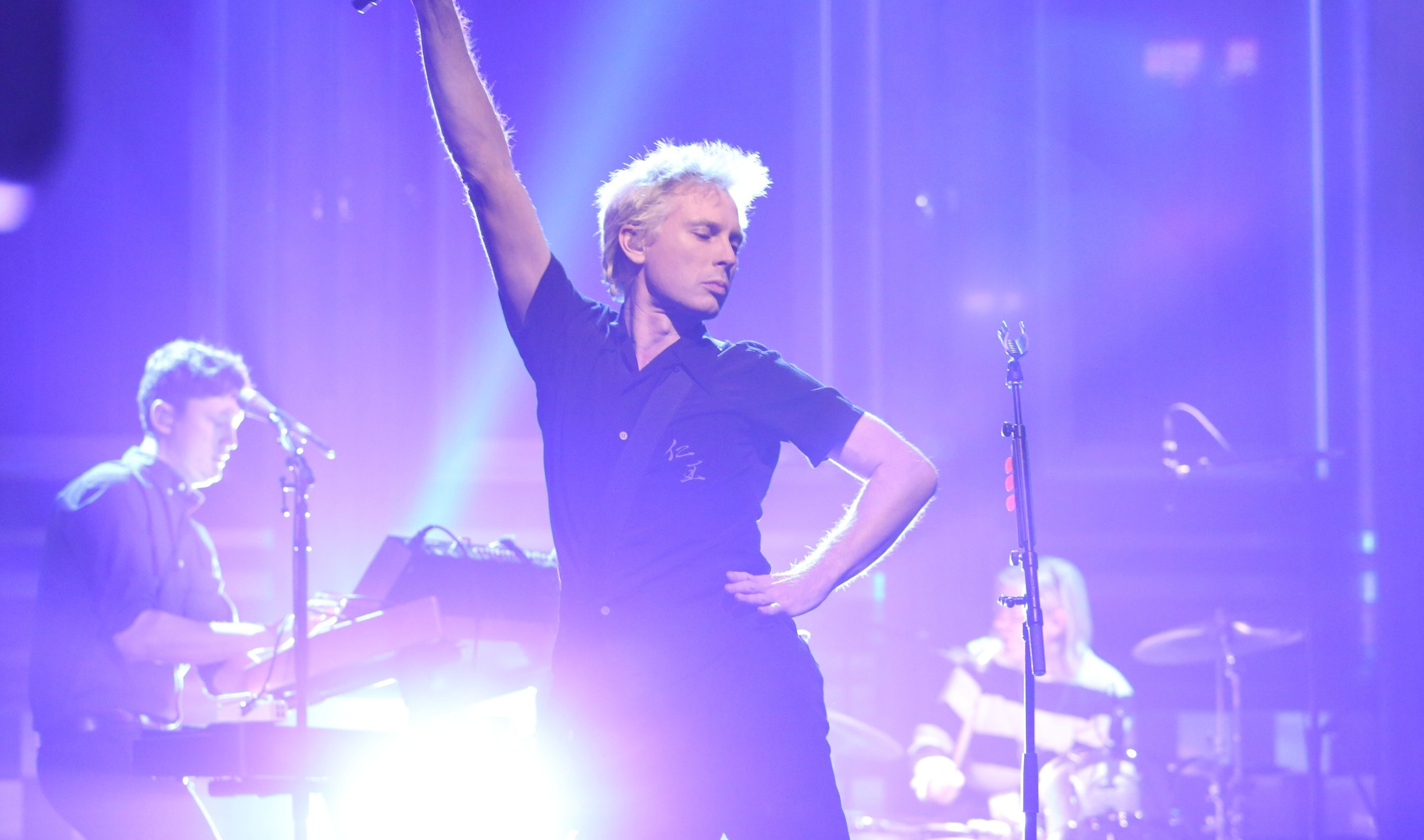 "Alex Kapranos of Franz Ferdinand performs ""Always Ascending"" (Andrew Lipovsky/NBC/NBCU Photo Bank via Getty Images)"