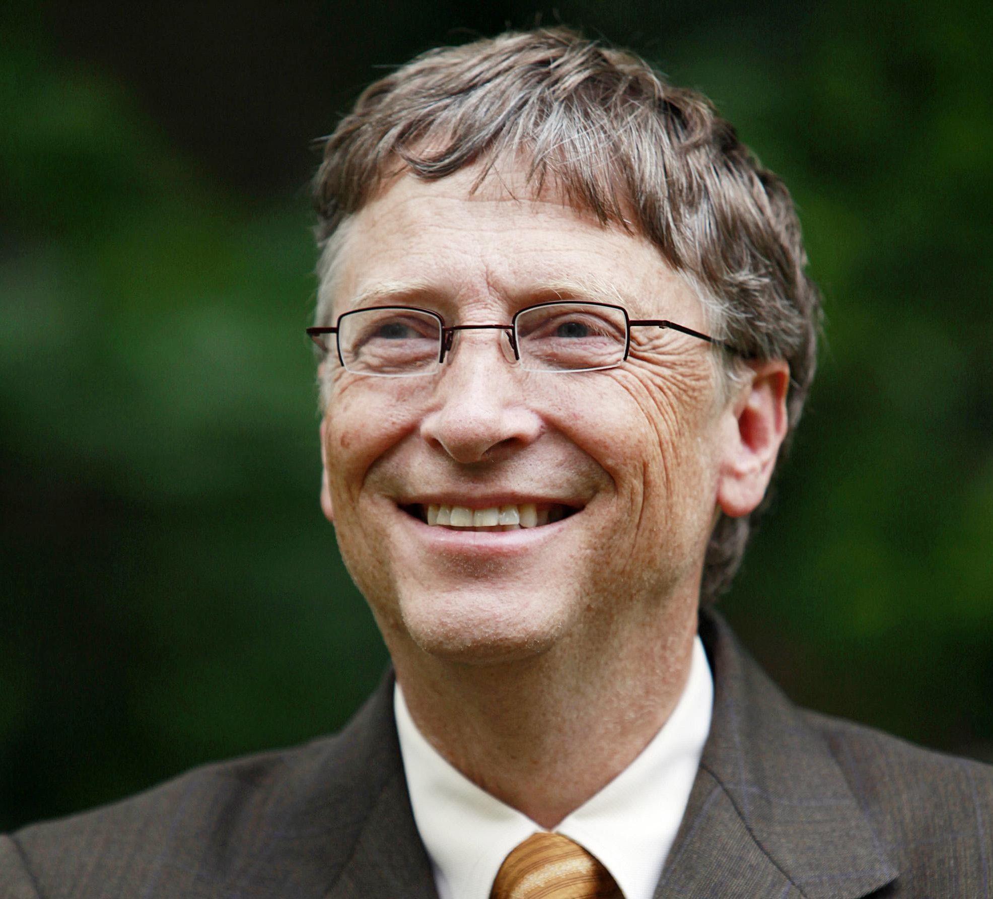 Bill Gates will visit Edinburgh University on Friday (Jason Alden/PA Wire)