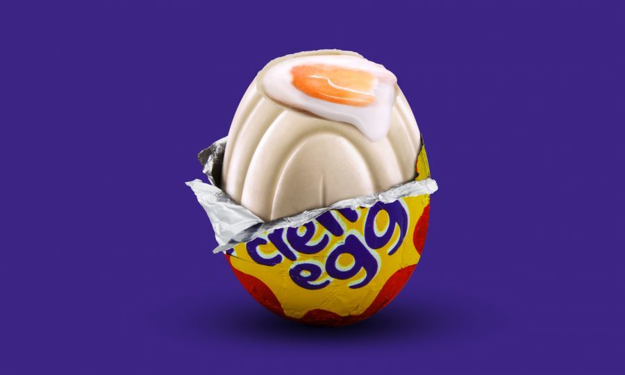 The first white chocolate Cadbury's Creme Egg has been found