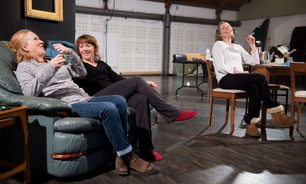 Deirdre Davis, Lucianne McEvoy, Scarlett Mack (Tim Morozzo)