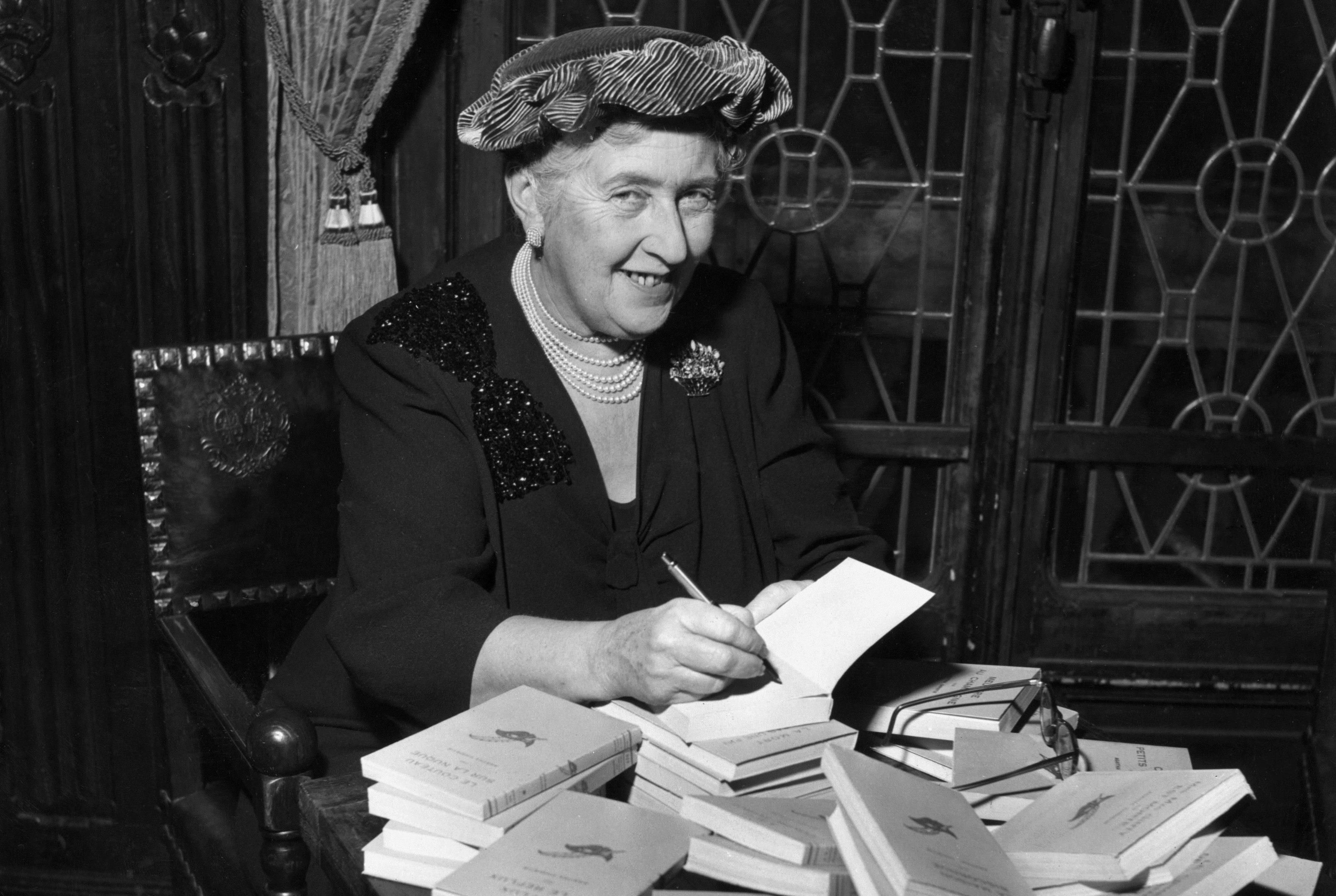 Agatha Christie, circa 1965 (Hulton Archive/Getty Images)