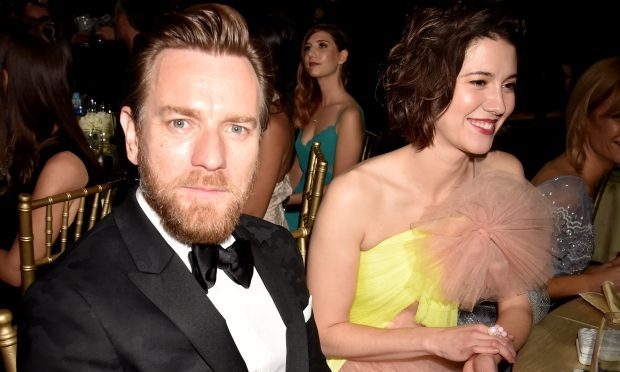 Actors Ewan McGregor (L) and Mary Elizabeth Winstead (Jeff Kravitz/FilmMagic)