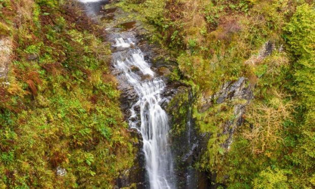 Glenashdale Falls, near Whiting Bay, Isle of Arran (Alamy)