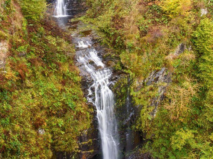 Glenashdale Falls, near Whiting Bay, Isle of Arran (Alamy)