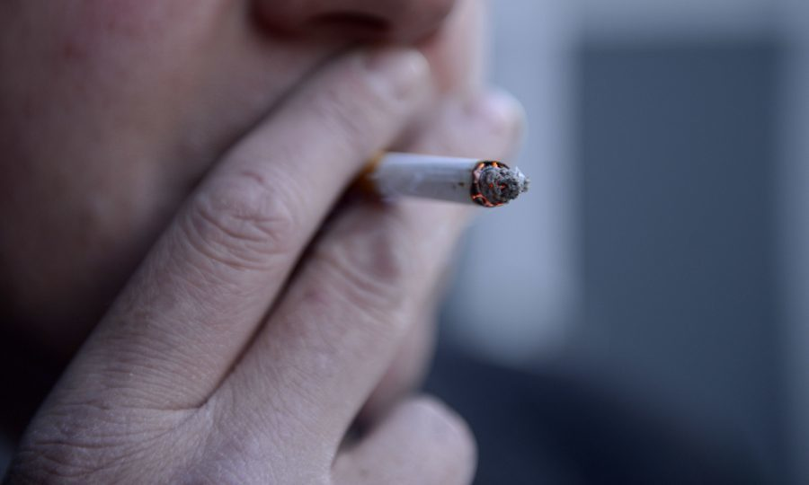 Researchers found that 69% of people who had ever tried a cigarette had gone on to become a daily smoker, even if just temporarily. (Jonathan Brady/PA Wire)