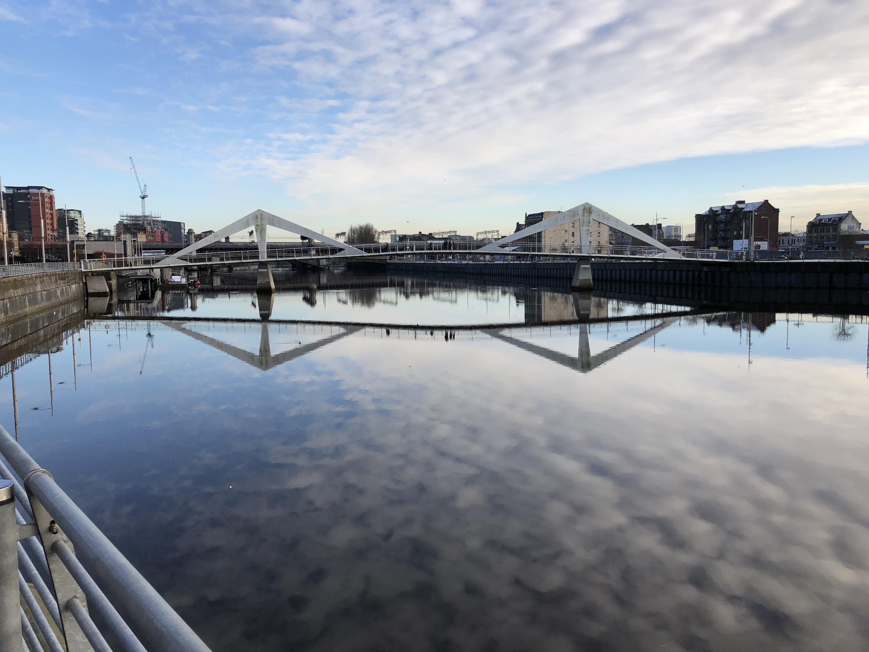Glasgow's Tradeston Bridge (Ross Crae / DC Thomson)
