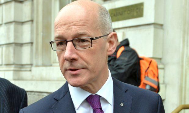 Deputy First Minister John Swinney (John Stillwell/PA Wire)