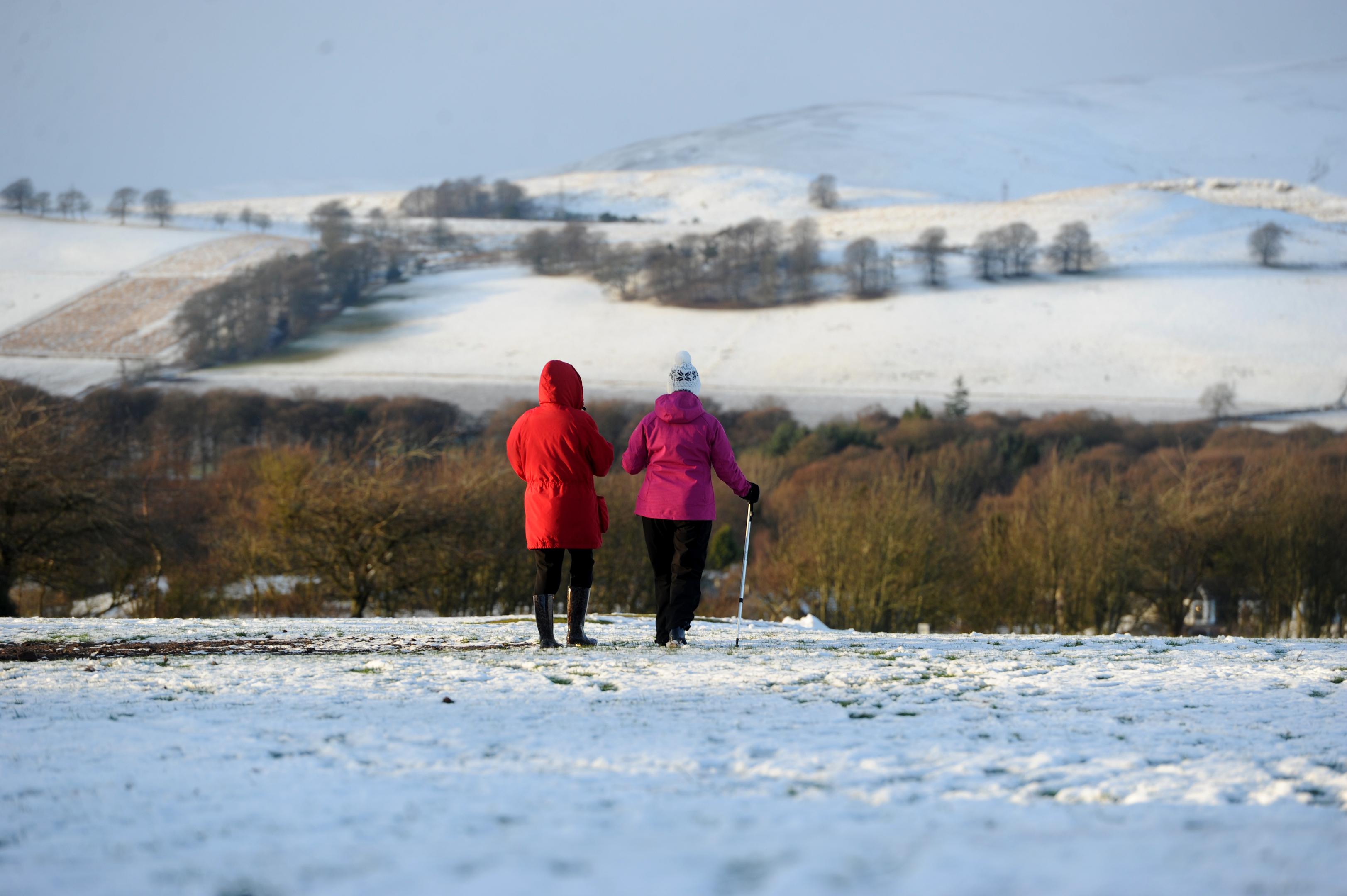 Snow in Kirriemuir (Kim Cessford / D C Thomson)