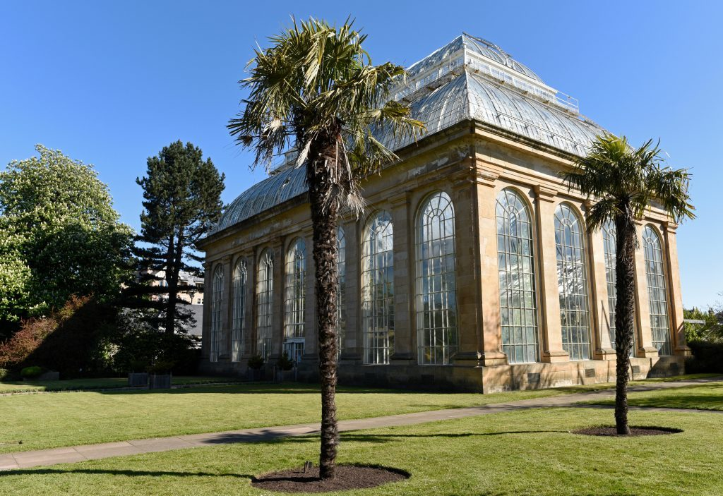 The Palm House at the Royal Botanic Gardens in Edinburgh (100 Media)