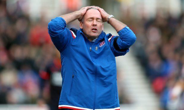 Stoke City manager Paul Lambert (PA)