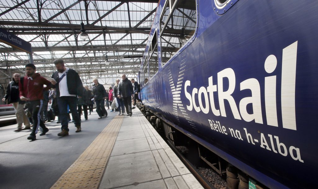 VIDEO: Flooding forces closure of railway line between Barrhead and Kilmarnock