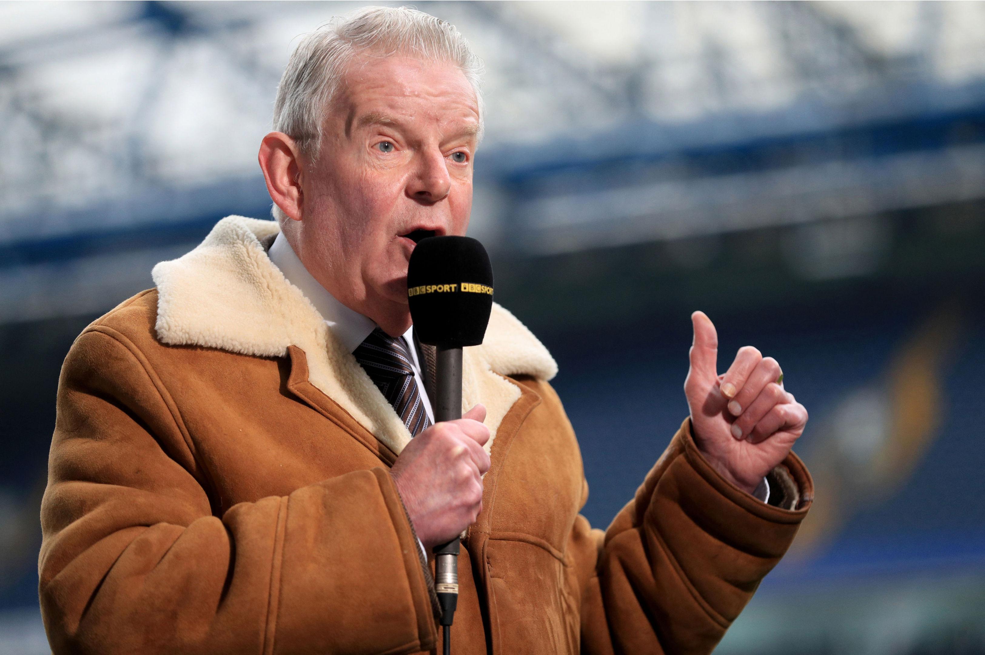 BBC Sport commentator John Motson (Adam Davy/PA Wire)