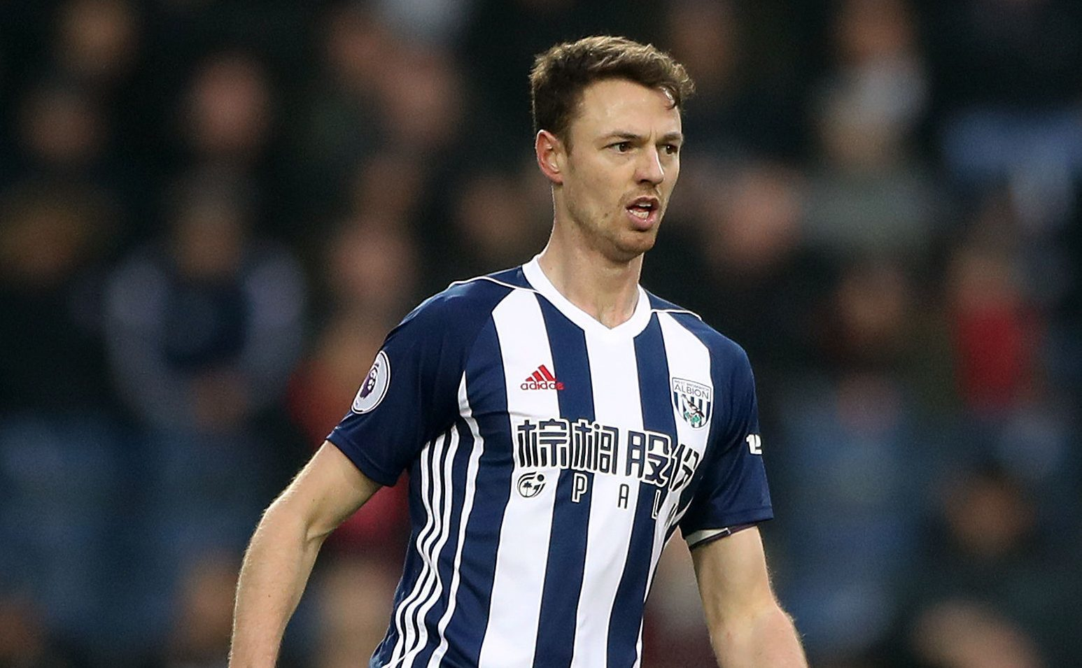 West Bromwich Albion's Jonny Evans (Nick Potts/PA Wire)