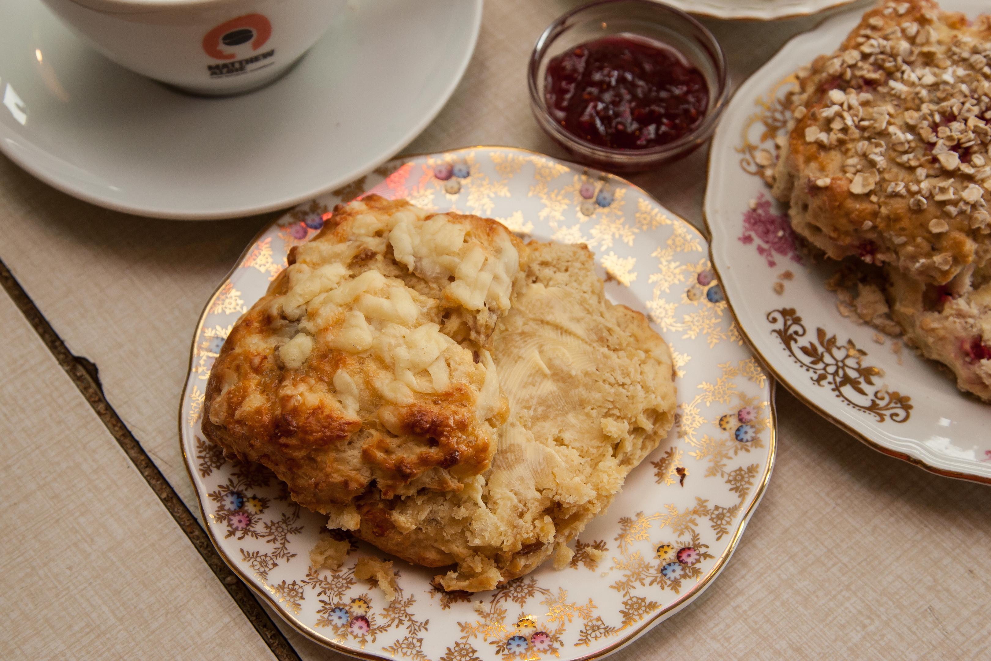 Kitschnbake Café's scone (Tina Norris)