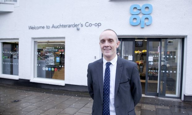 John McNeill, Co-op's divisional managing director (Alistair Linford)