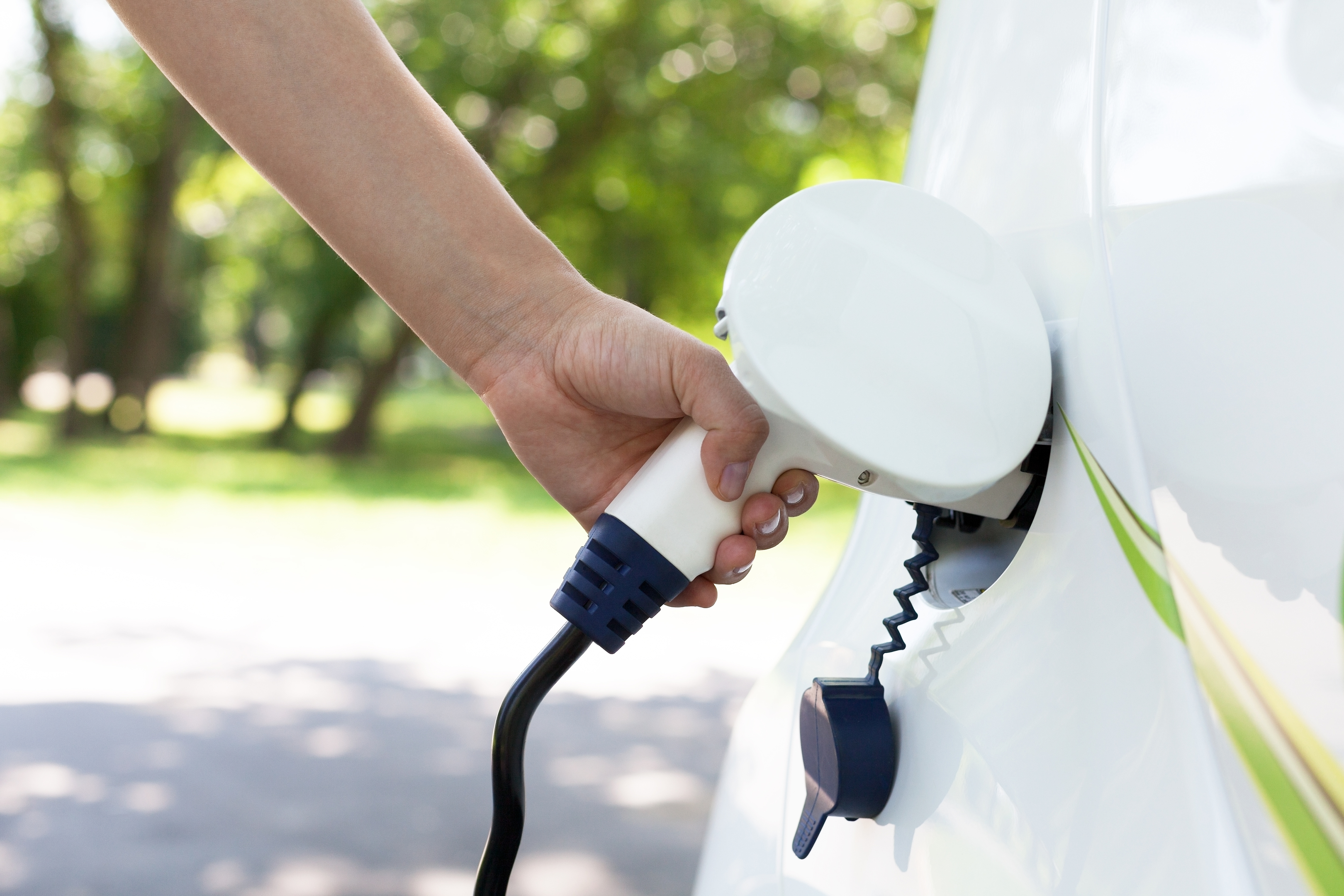 Charging an electric car will be an easy task in the new homes (Getty Images)