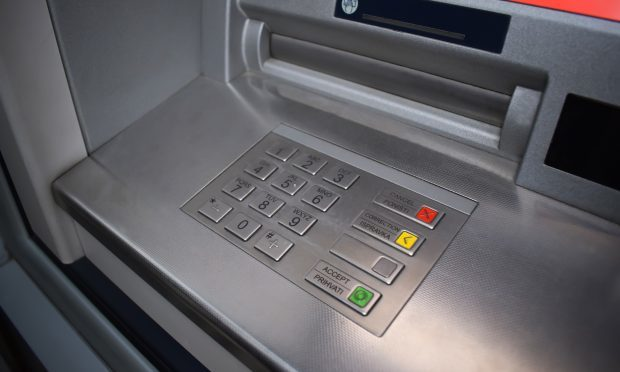 An ATM machine on Glasgow Road, Yoker, exploded during what police believe could have been an attempted robbery (Getty images/iStock)