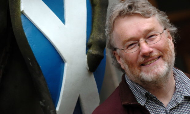 Late Scottish author Iain Banks (Kami Thomson/DC Thomson)
