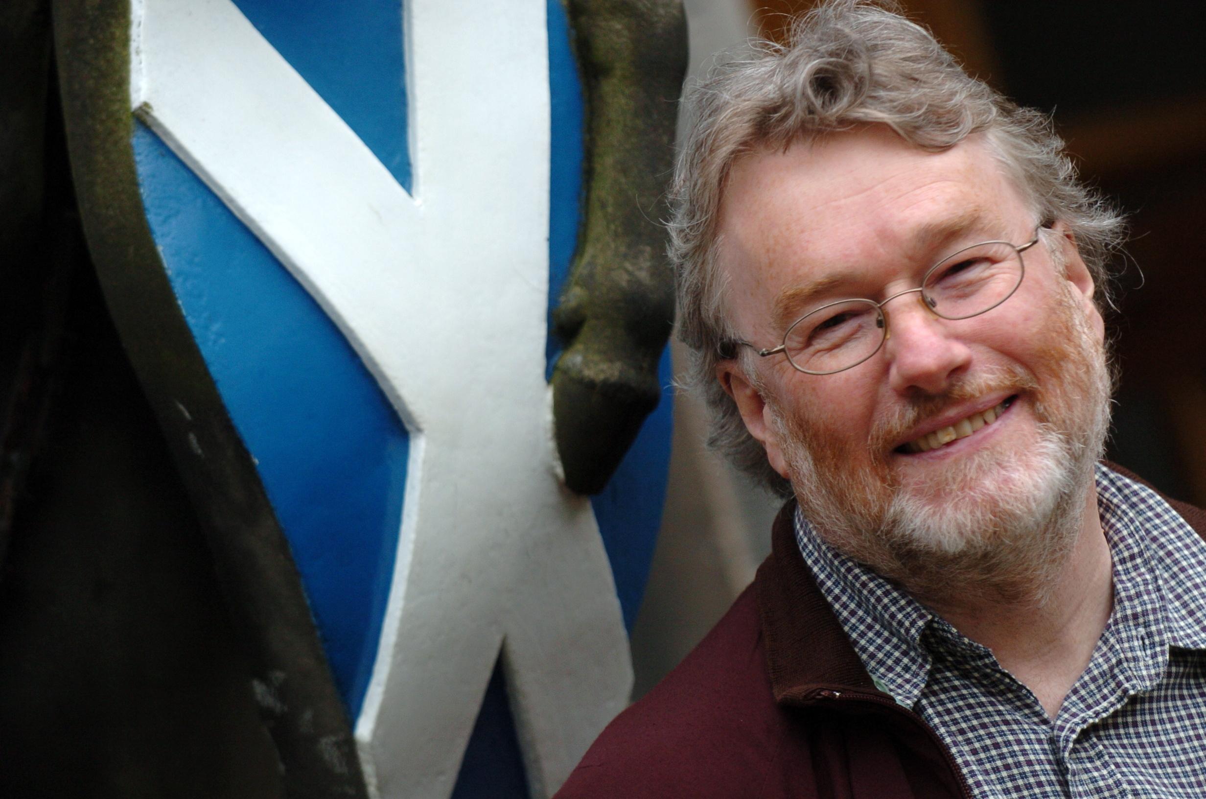 Late Scottish author Iain Banks (Kami Thomson/DC Thomson)