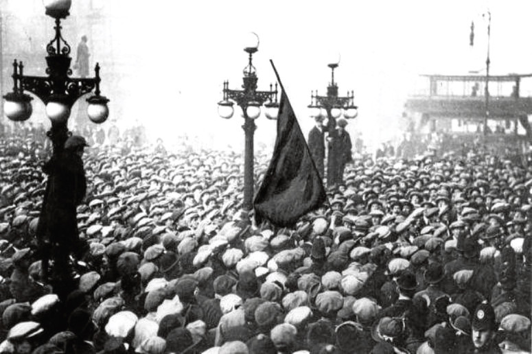 60,000 protestors in George Square