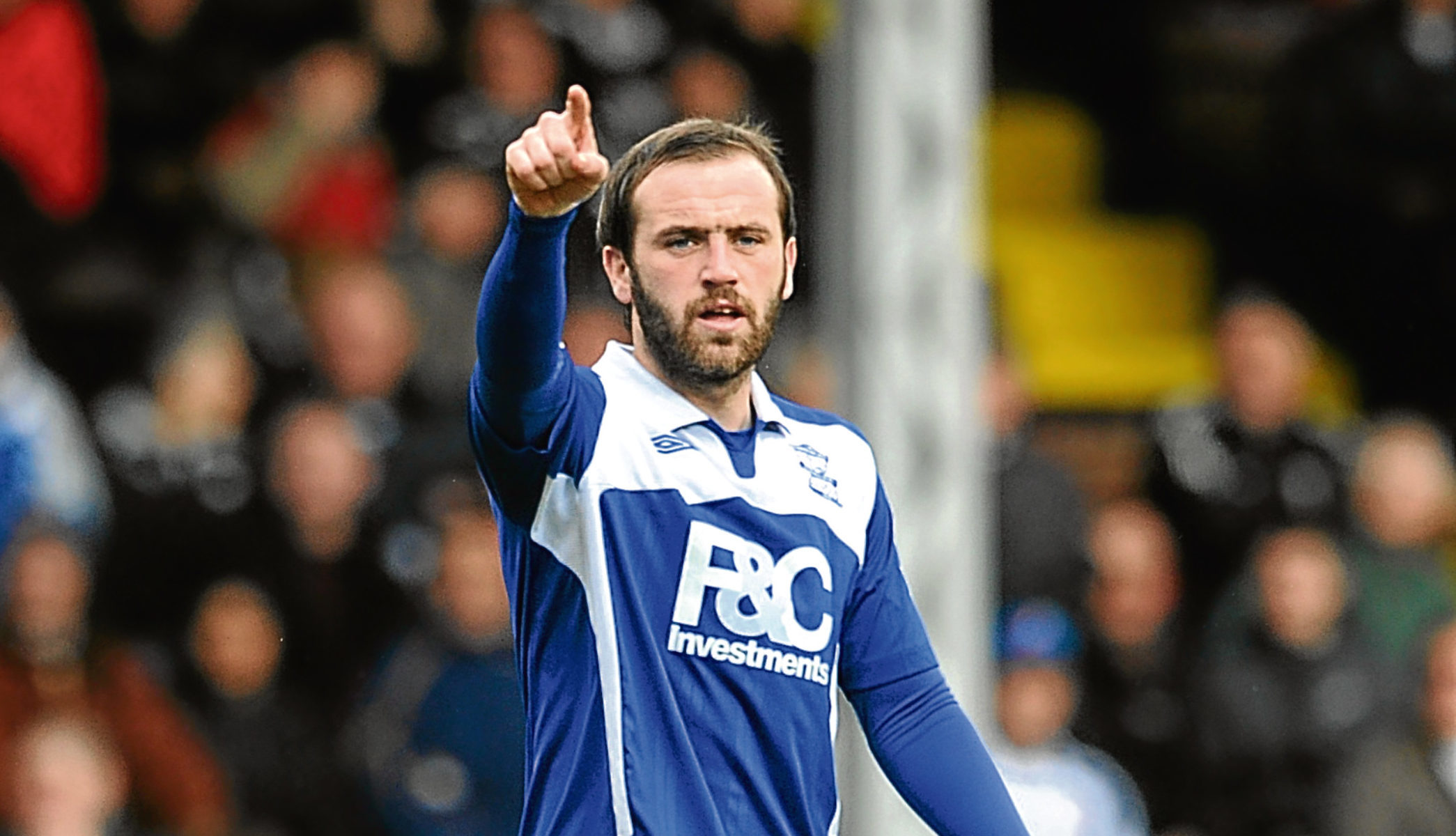 James McFadden is tipped to be in Alex McLeish's backroom staff (PA)