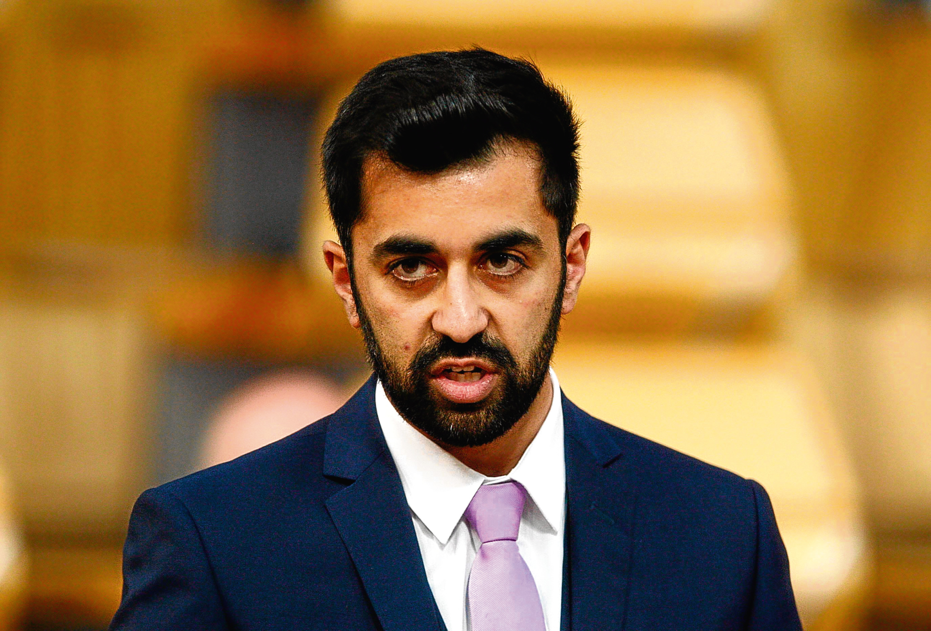 Humza Yousaf MSP (Andrew Cowan/Scottish Parliament)