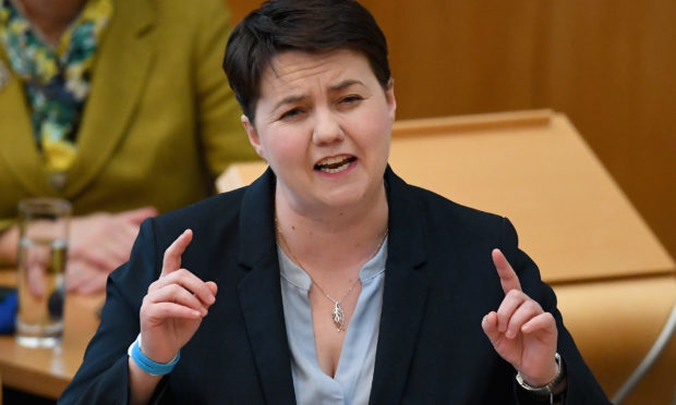 Scottish Conservative party leader Ruth Davidson will be taking part in The Great Celebrity Bake Off (Photo by Jeff J Mitchell/Getty Images)