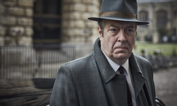 ROGER ALLAM as DCI Fred Thursday (Mammoth Screen/ITV)