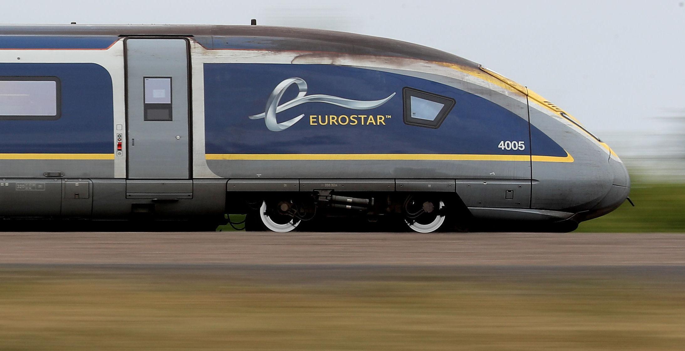 A Eurostar train (Gareth Fuller/PA Wire)