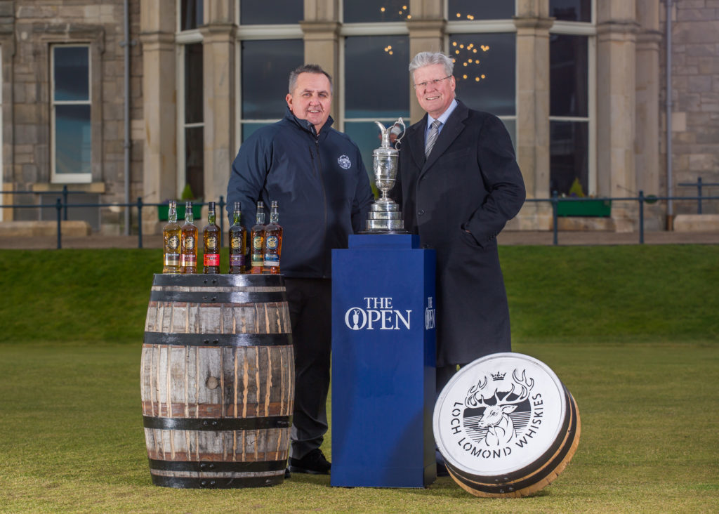 1.Colin Matthews, CEO of Loch Lomond Group, and Martin Slumbers, Chief Executive, The R&A