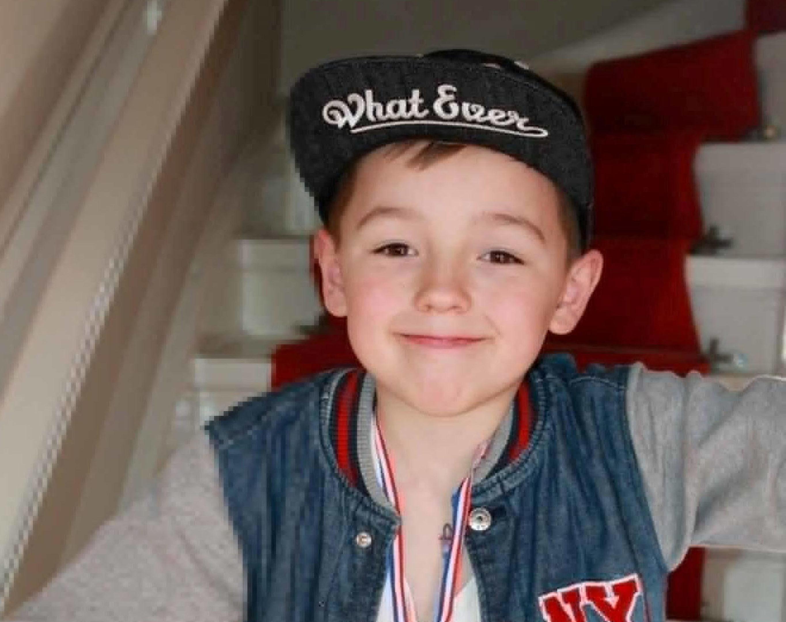 Eight-year-old Ciaran Williamson (Police Scotland/PA Wire)