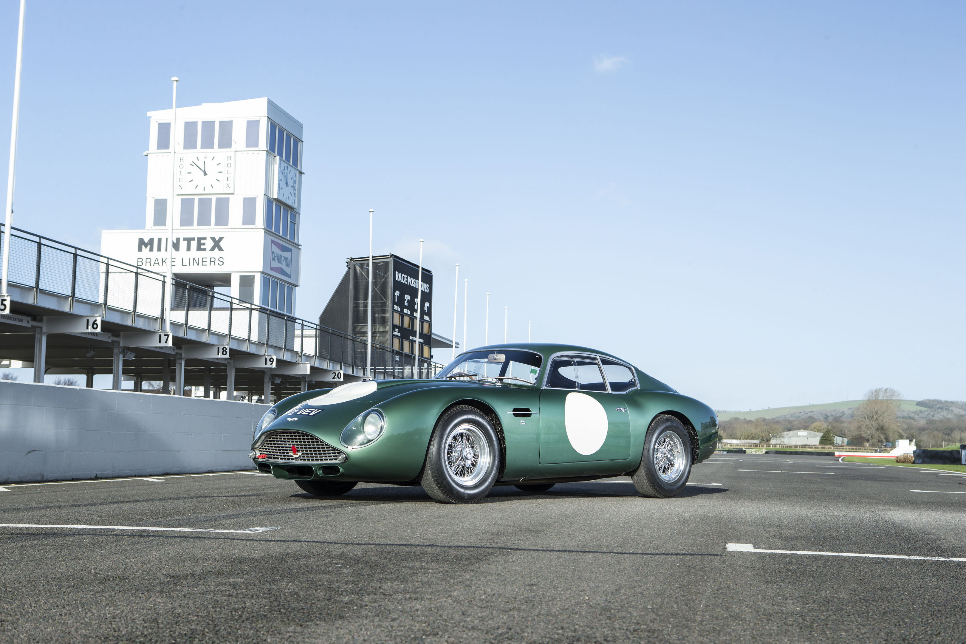 Aston Martin DB4 GT Zagato tipped to sell for record £15m