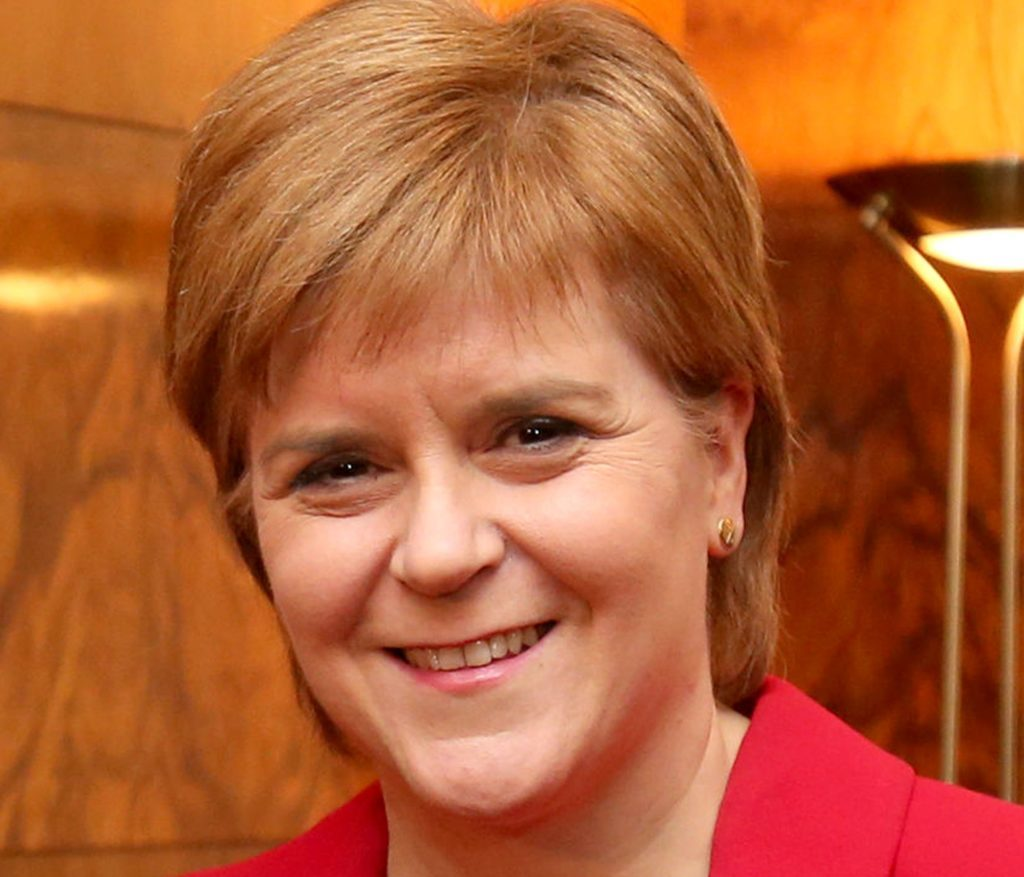 """Nicola Sturgeon, who has announced a £500,000 fund to drive greater representation of women in Scottish politics in """"tribute"""" to the suffragettes. (Jane Barlow/PA Wire)"""