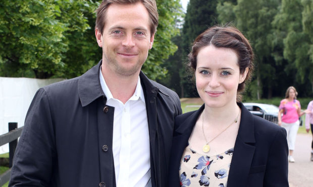 Claire Foy and Stephen Campbell Moore (Steve Parsons/PA Wire)