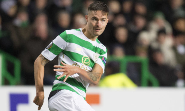 Celtic's Mikael Lustig in action (SNS)