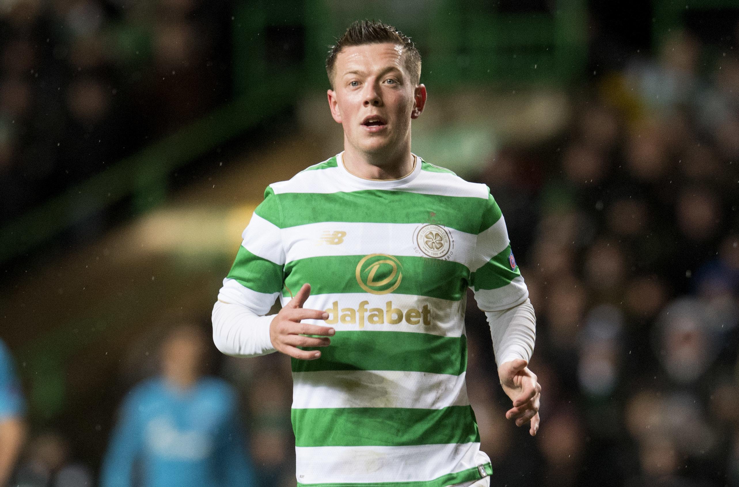 Celtic's Callum McGregor in action (SNS)
