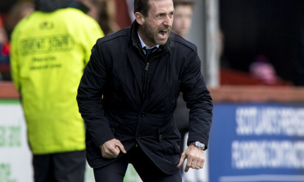 Dundee manager Neil McCann (SNS)