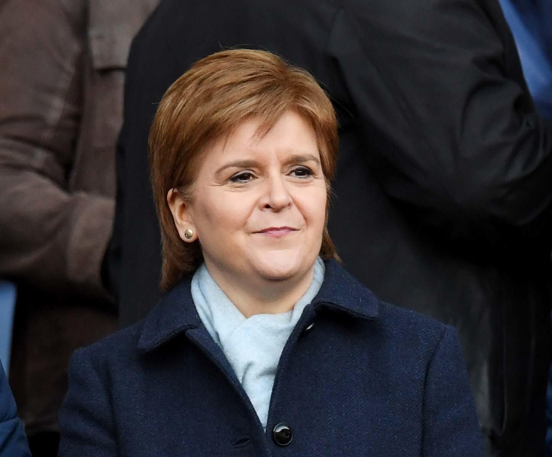 First Minister Nicola Sturgeon (SNS)