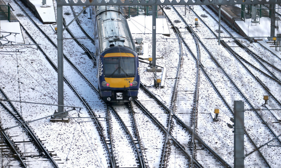 ScotRail cancels services ahead of Beast From The East