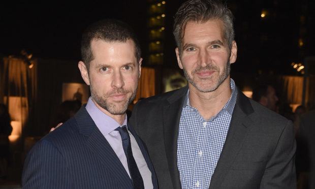 Game of Thrones creators Dan Weiss and David Benioff are bringing their talents to the Star Wars universe (FilmMagic/Sky)