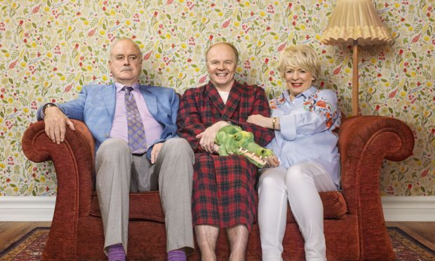 John Cleese: No pressure to compare new sitcom to Fawlty Towers (Adam Lawrence/BBC/Shutterstock)