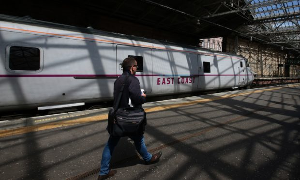 Humza Yousaf said 'no options for the future of the East Coast mainline should be taken off the table' (Andrew Milligan/PA)