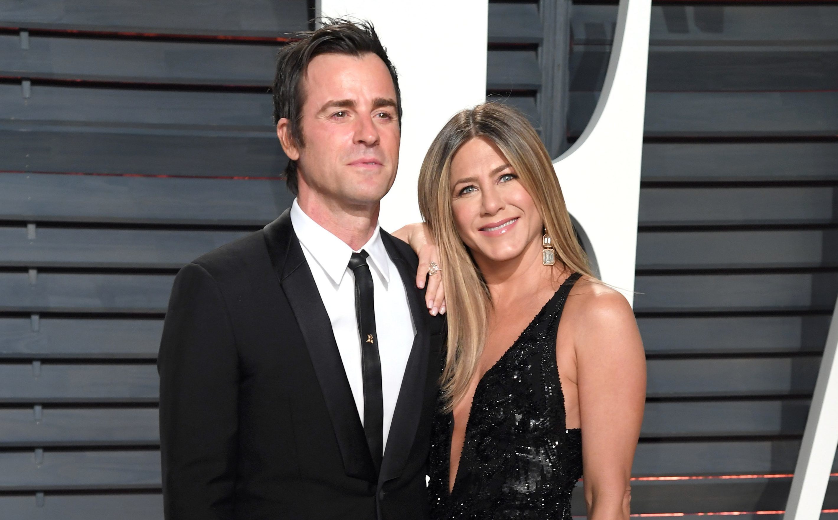 Justin Theroux and Jennifer Aniston have announced they are separating (PA)