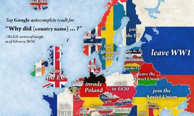 Map of Europe (Jakub Marian)