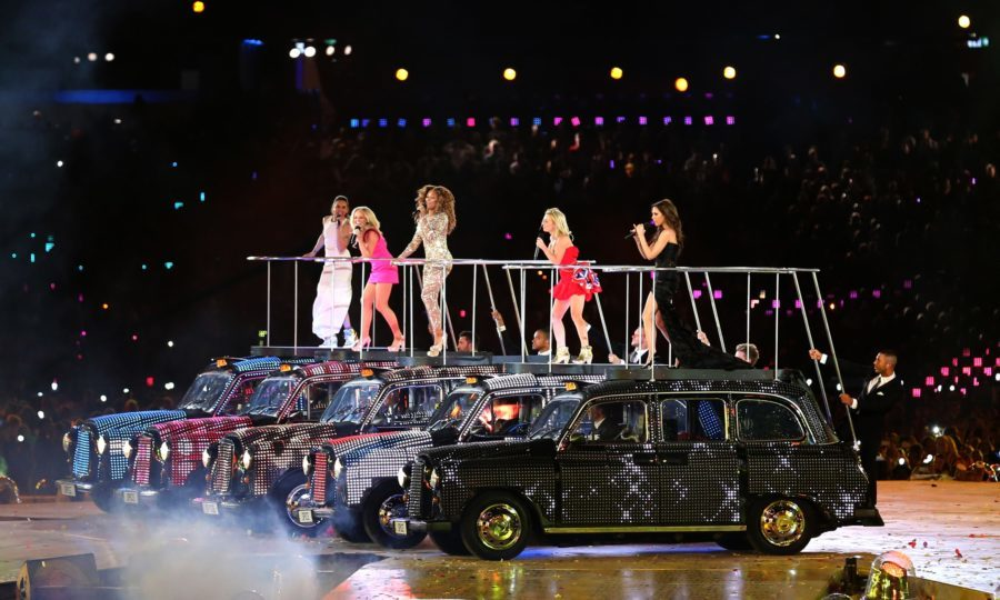 The Spice Girls became a smash-hit success before splitting in 2000