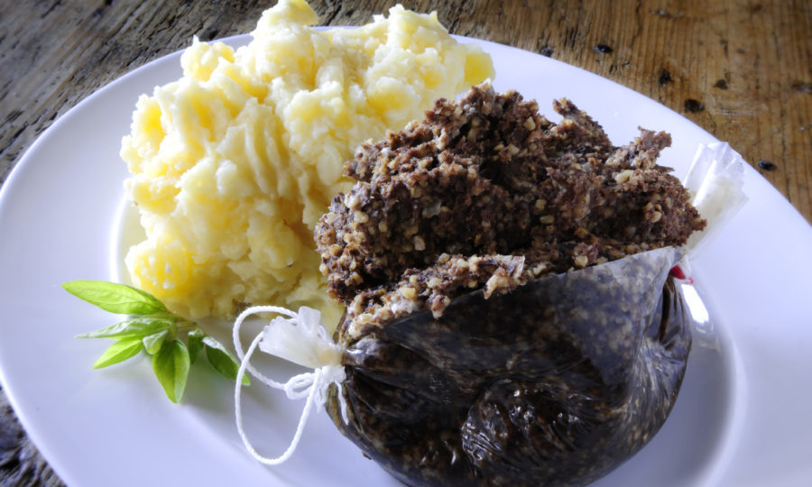 January saw strong haggis sales (Getty Images/iStock)